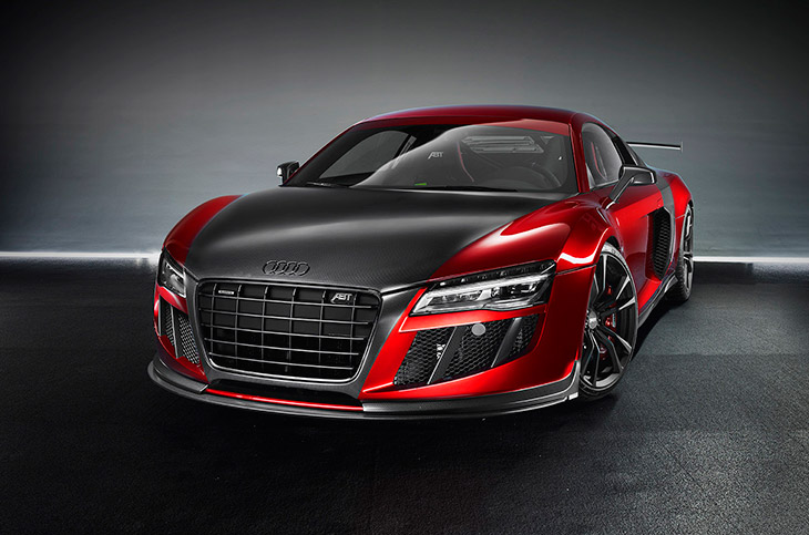 2015 ABT Audi R8 GTR Front Angle