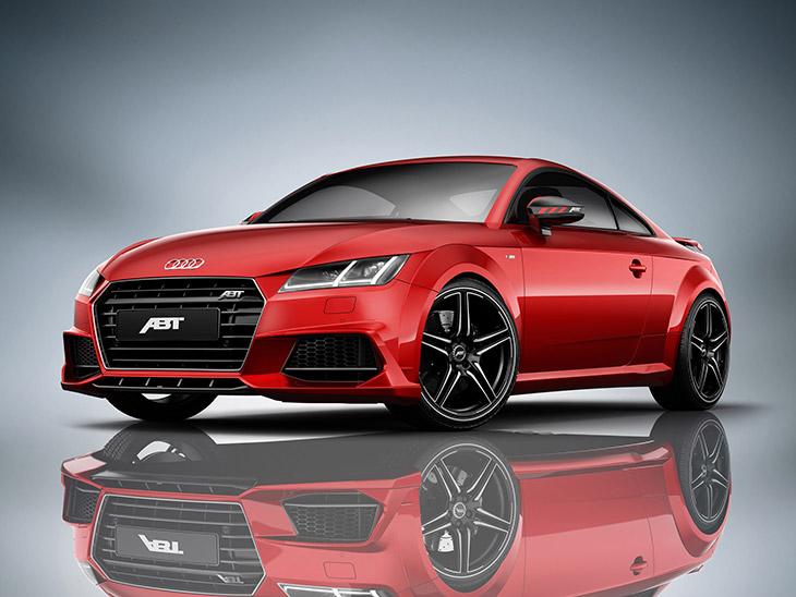 2015 ABT Audi TT FR Front Angle