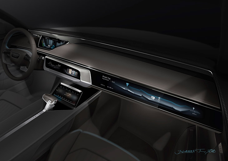 2015 Audi Prologue Avant Concept Display