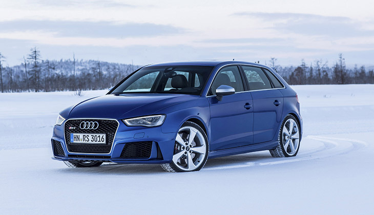 2015 Audi RS3 Sportback Front Angle