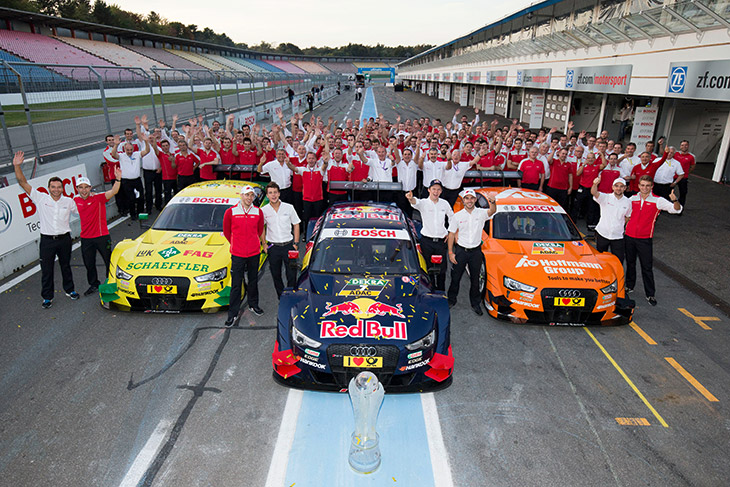 Audi and the DTM 2015 project