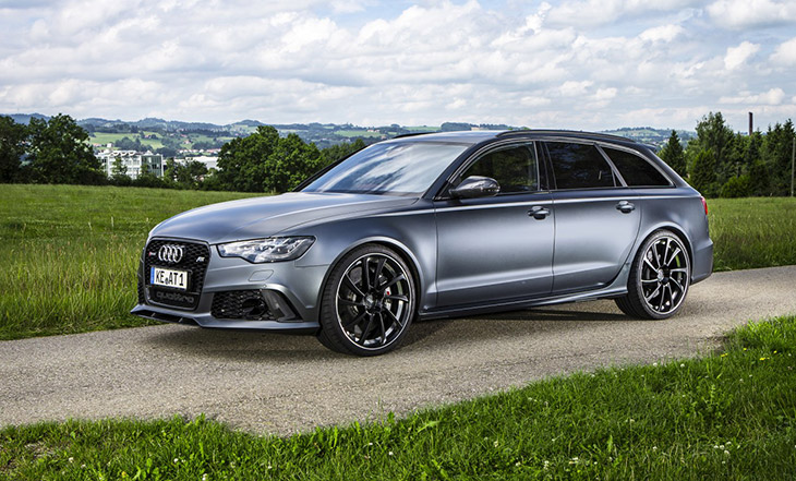 2015 ABT Audi RS6 Front Angle