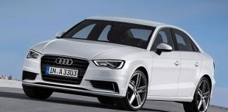 Audi A3 Sedan 2015 Front Angle