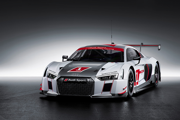 2015 Audi R8 LMS Front Angle