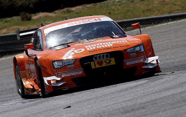 Audi drivers impressed by RS 5 DTM