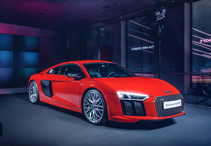 New R8 under starters orders
