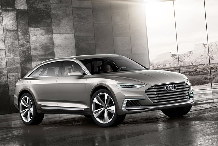 2016 Audi Prologue Allroad Concept Front Angle