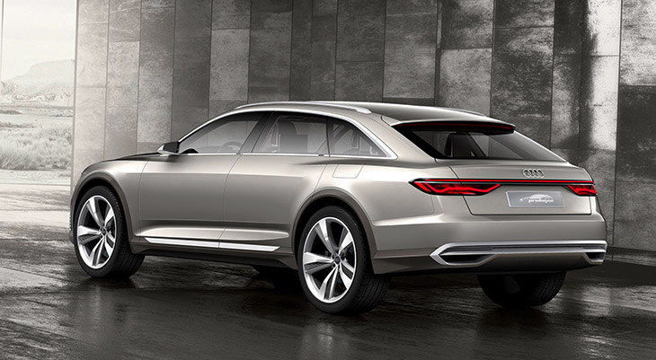 2016 Audi Prologue Allroad Concept Rear Angle