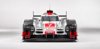 Audi R18 e-tron quattro with new aerodynamics Front