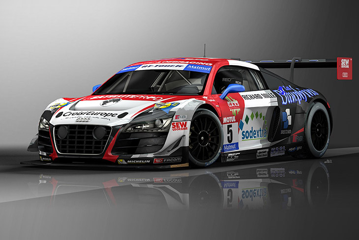 2015 Audi R8 LMS ultra Front Angle