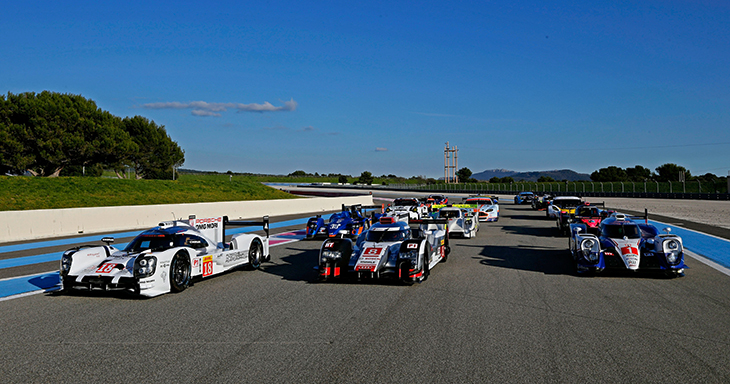 Audi Ready to Battle for World Endurance Championship Title