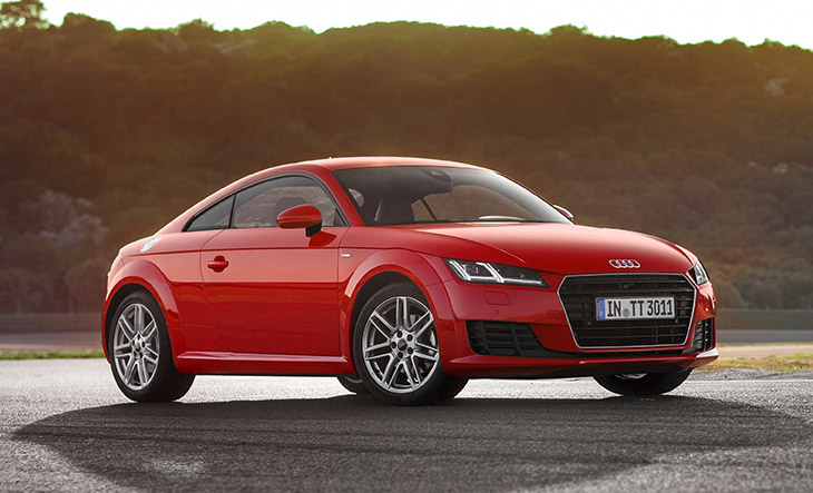 Audi TT 1.8 TFSI - Athlete in a Compact Format