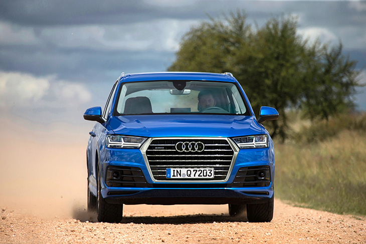 Final Approval Drive of The New Audi Q7