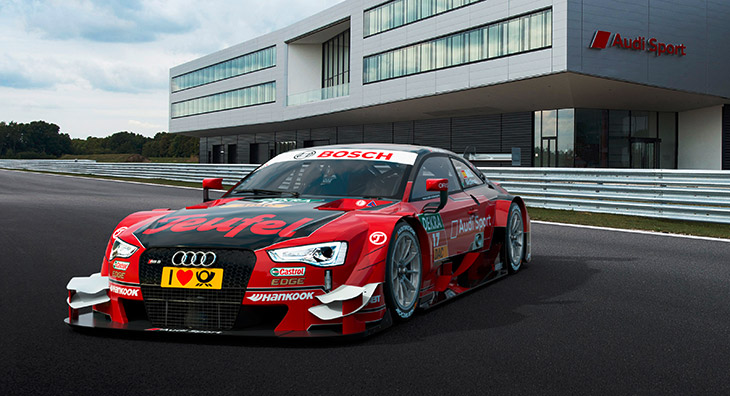 Strong new partner for Audi Sport