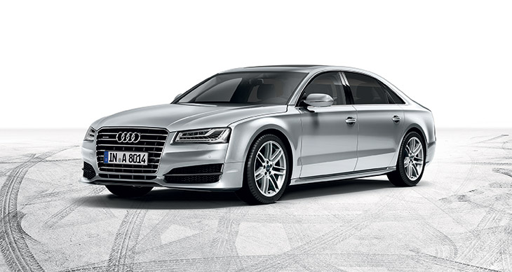 The new face of Audi A8 luxury