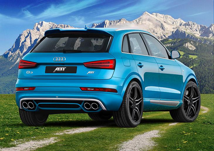 2015 ABT Audi Q3 TDI Rear Angle