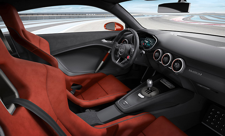 2015 Audi TT Clubsport Turbo Concept Interior