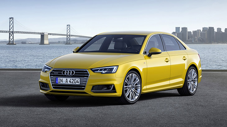 2016 Audi A4 Front Angle