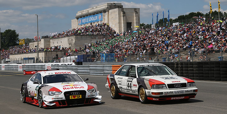 Audi Driver Ekstrom With Strong Performance