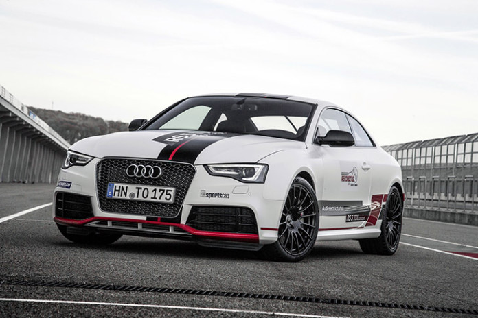 Audi RS 5 TDI Competition Concept Drives to Record Time on the Sachsenring Track