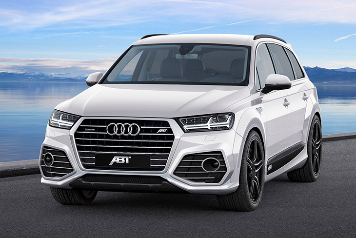 2015 ABT Audi QS7 Front Angle