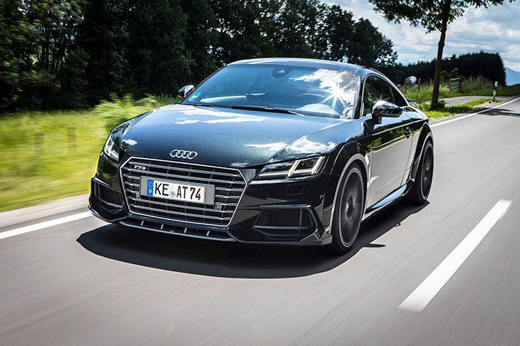 2015 ABT Audi TTS Coupe Front Angle