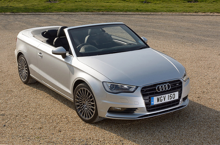 2016 Audi A3 Cabriolet Front Angle