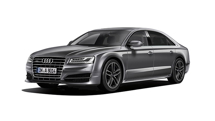 2015 Audi A8 Edition 21 Front Angle