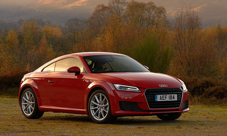 2016 Audi TT Coupe Front Angle