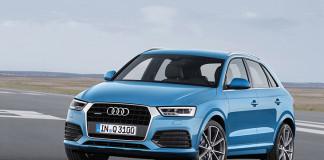 Audi Q3 2015 Front Angle
