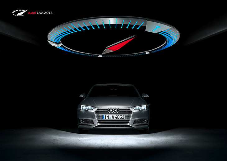 Audi at the IAA 2015-The Power of Four