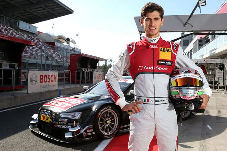 Formula 3 Leader in Audi RS 5 DTM