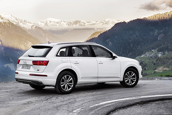 New Audi Q7 as a Highly Efficient Diesel