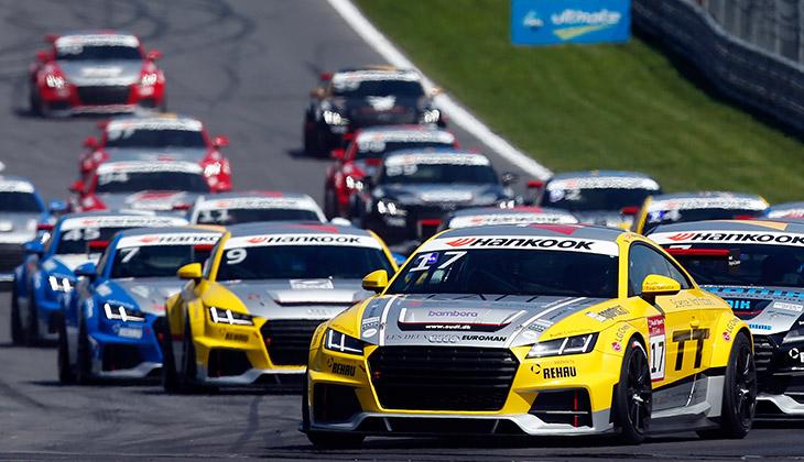 Successful first half of the 2015 Audi Sport TT Cup