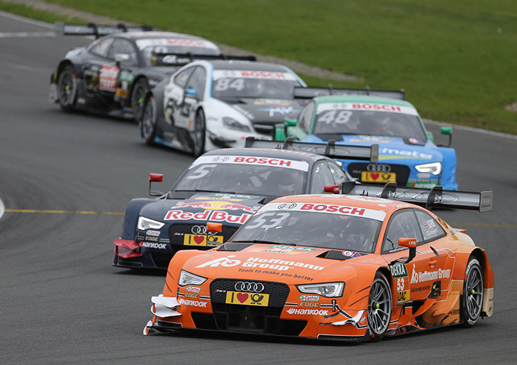 Hard-fought Points for Audi in the DTM
