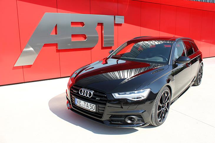 2015 ABT Audi A6 Avant Front Angle