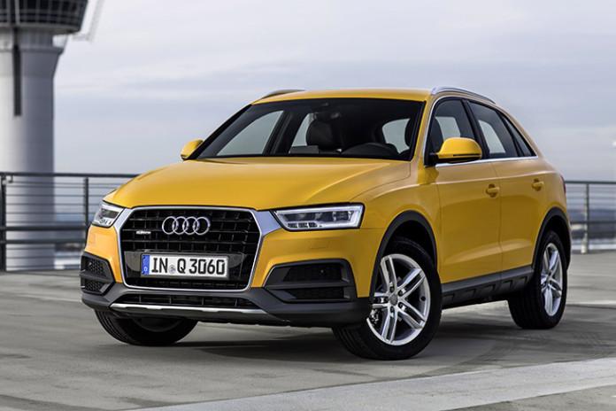 2016 Audi Q3 Mango Yellow