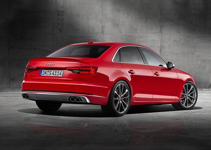 2016 Audi S4 Rear Angle