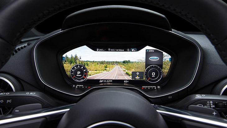 2016 Audi TT Roadster Cockpit Display