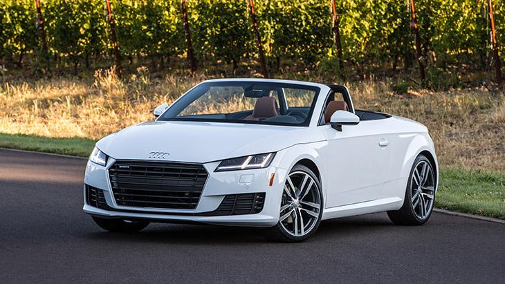 2016 Audi TT Roadster Front Angle