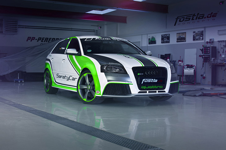 2015 FostlaDe Audi RS3 Front Angle