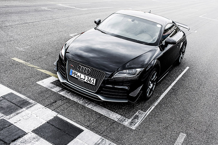 2015 Hperformance Audi TT RS Clubsport Front Angle