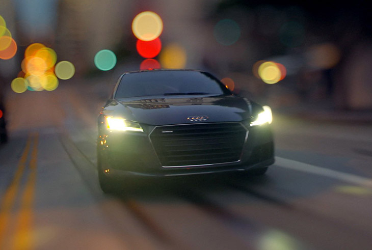 Audi TT Drives into Viewers Imaginations in new Stunt-Driving Television Commercial
