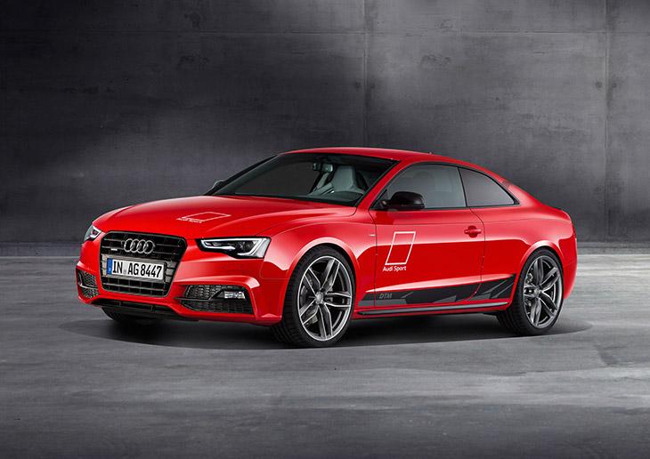 2016 Audi A5 DTM Front Angle