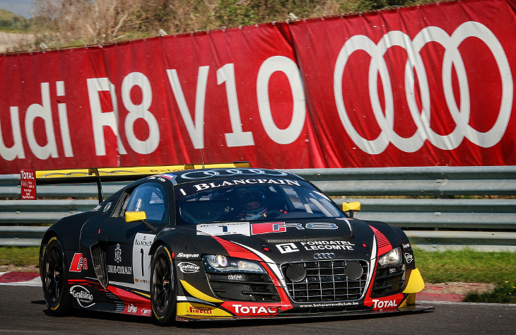 Audi R8 LMS Ultra Wins Important Title
