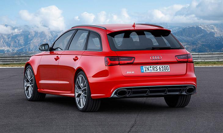 2016 Audi RS6 Avant performance Rear Angle