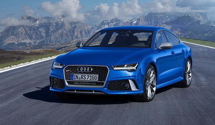 2016 Audi RS7 Sportback performance Front Angle