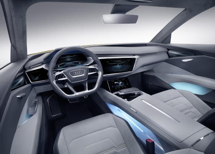 2016 Audi h-tron quattro Concept Interior