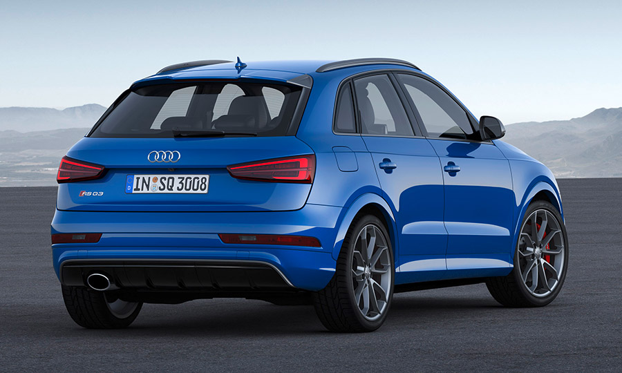 2016 Audi RS Q3 performance Rear Angle