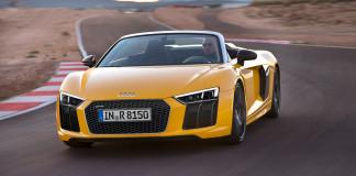 2016 Audi R8 Spyder V10 Front Angle
